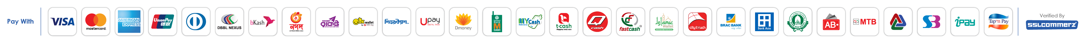 available payment methods